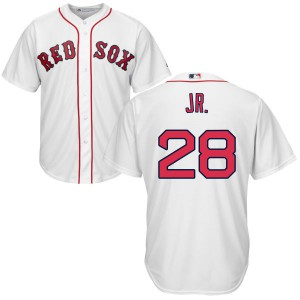 Men's Majestic Robbie Ross Jr. Boston Red Sox Authentic White Cool Base Jersey